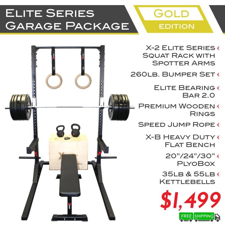 Elite Series Garage Package Gold