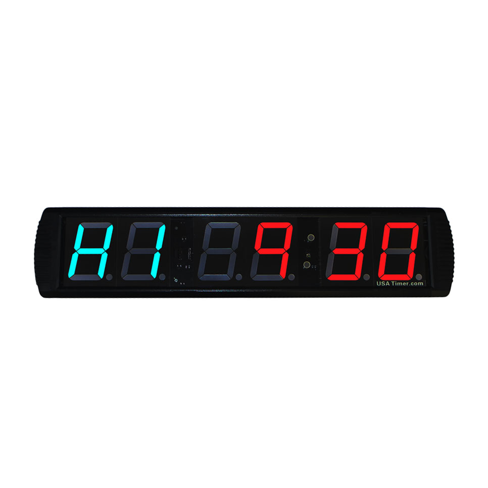 USA Timer Pro Full-Size Wall Timer - Programmable Fitness Timer