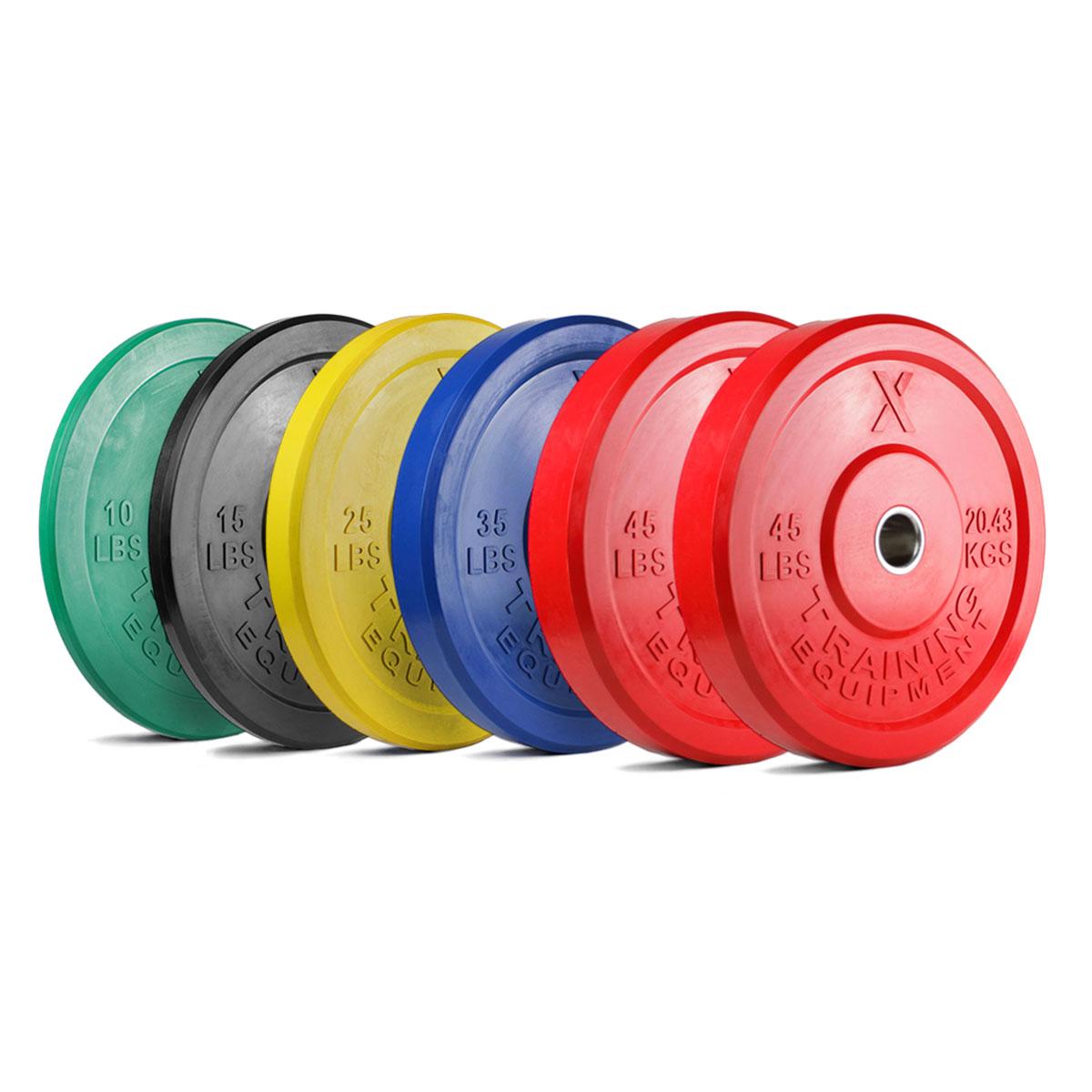 Premium Color Bumper Plates and Sets