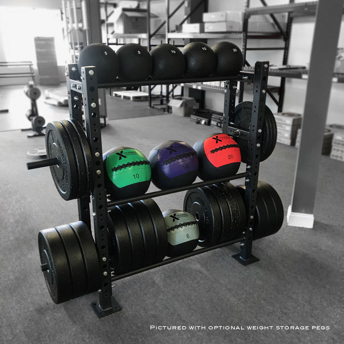 Ethos Functional Training Rack Review >> Mass Storage Unit - 4ft Wide - Bumpers, Med Balls, Slammers & More