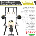 Elite Series Garage Package Gold