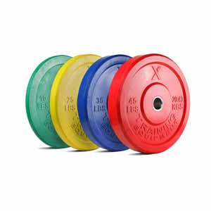 X Training Equipment® 230LB Premium Color Bumper Set