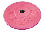 X Training Equipment® 15LB Premium Pink Bumper Plate Pair