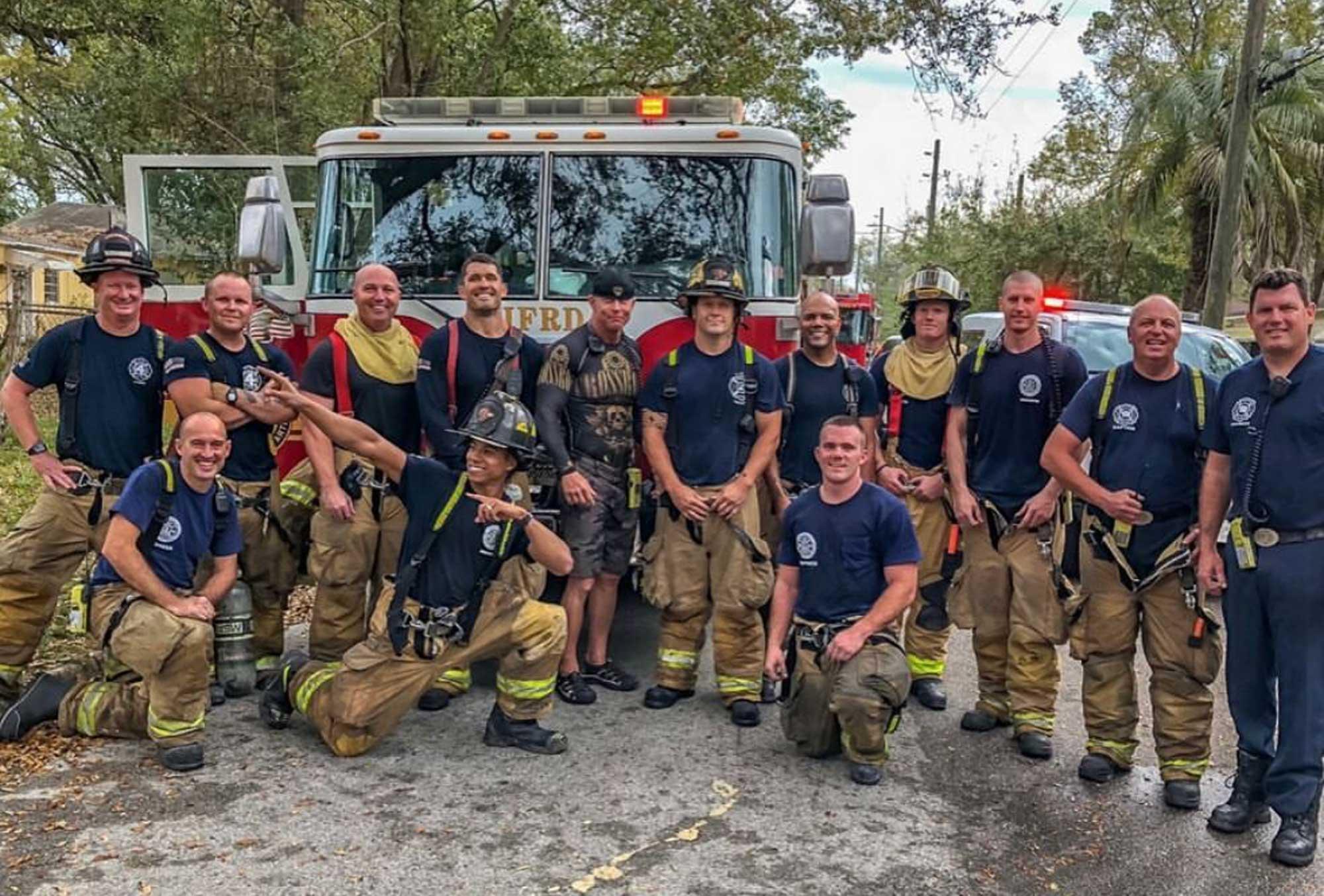 Donald Murray Firefighter Team