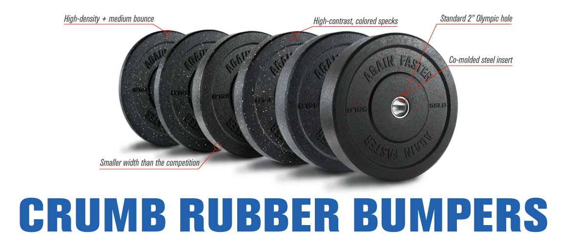 Crumb Rubber Bumper Features