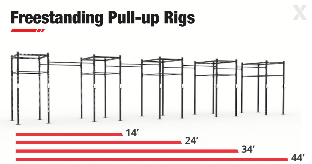 Freestanding Pull-up and Squat Rigs