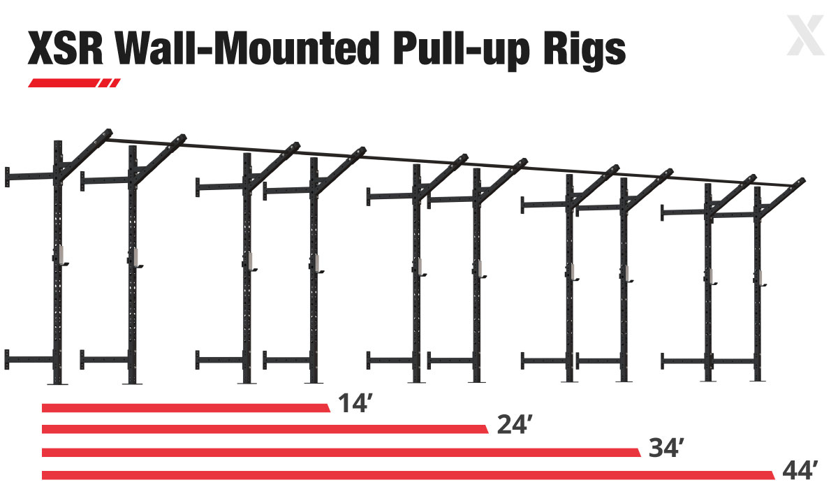 XSR Slim Pull-up and Squat Rigs