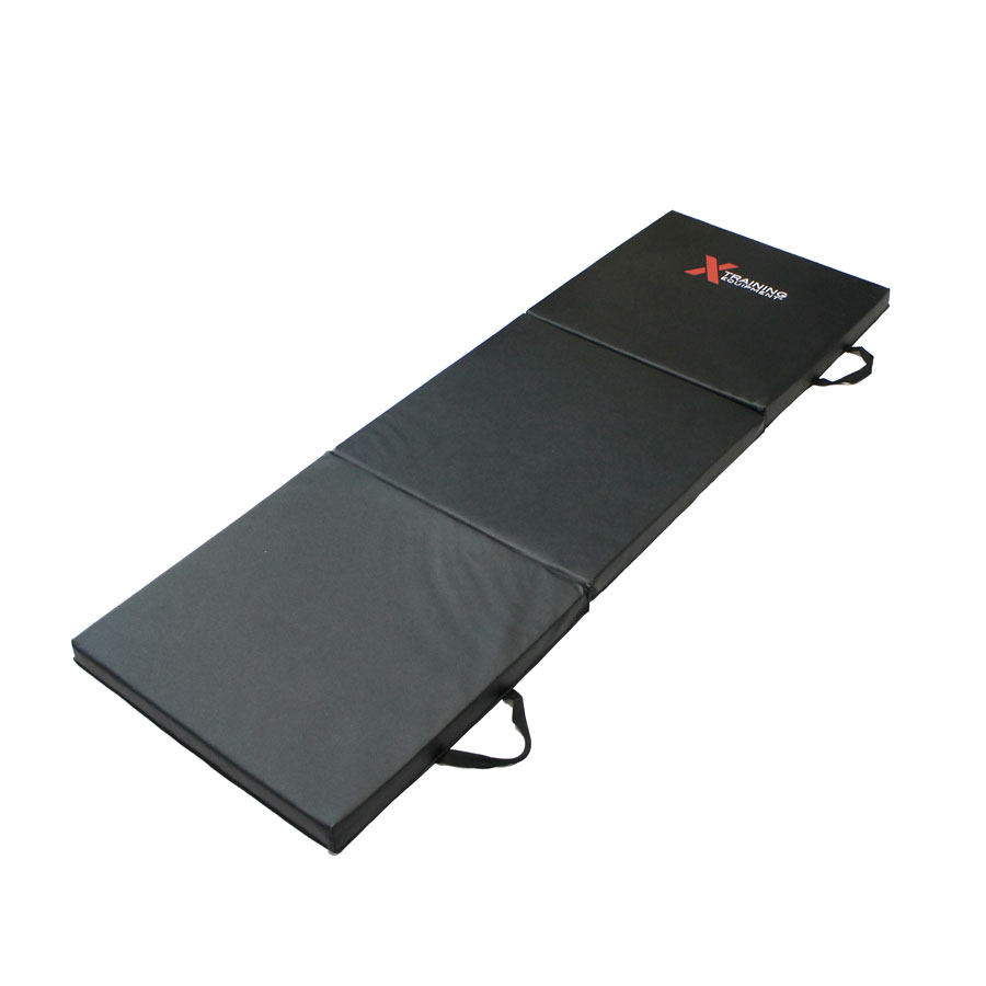 X Training Equipment® 3-Fold Elite Fitness Mat - 6ft x 2ft