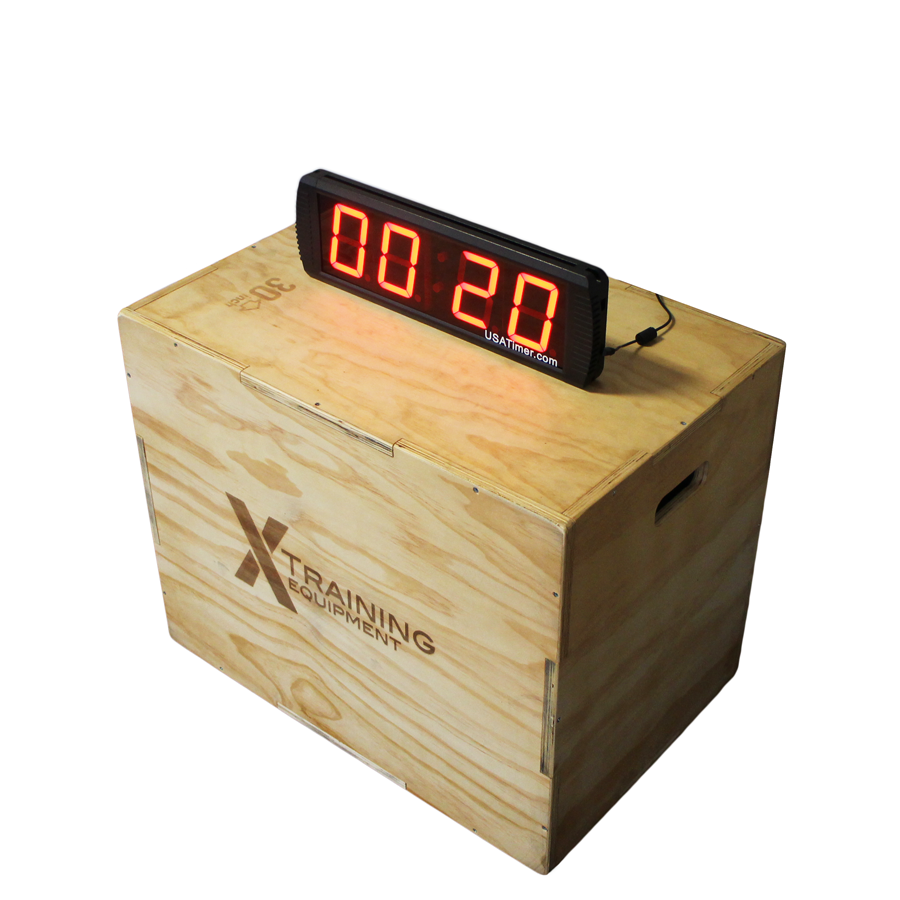 Full size gym timer multiple workout usa timer at training