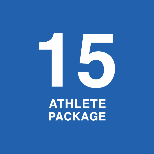 Fifteen Athlete Package