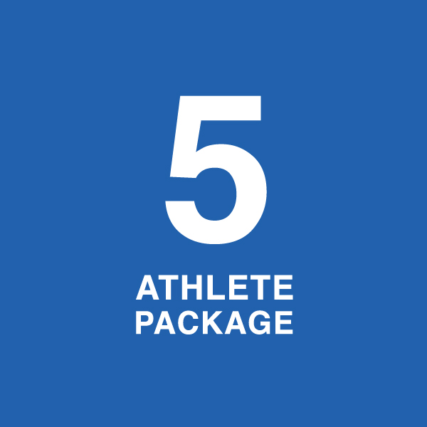 Five Athlete Package