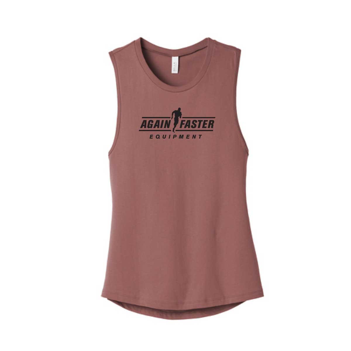 Womens - Logo - Muave - Premium Blend Tank
