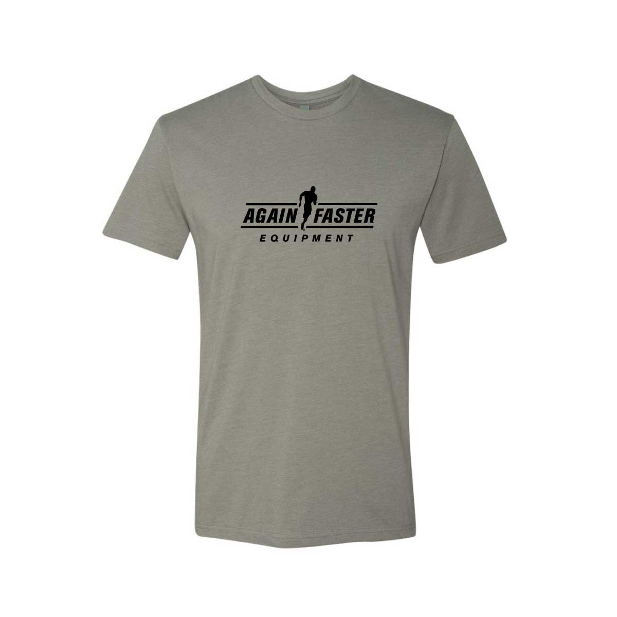 Mens - Logo - Stone - Premium Blend Fitted T-Shirt