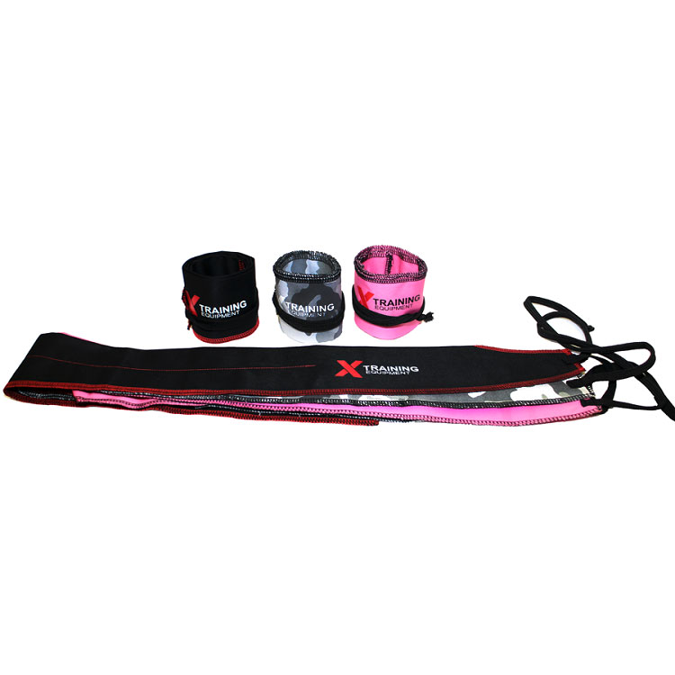 X Training Equipment® Power Wrist Wrap Pair - Black, Pink, or Camo