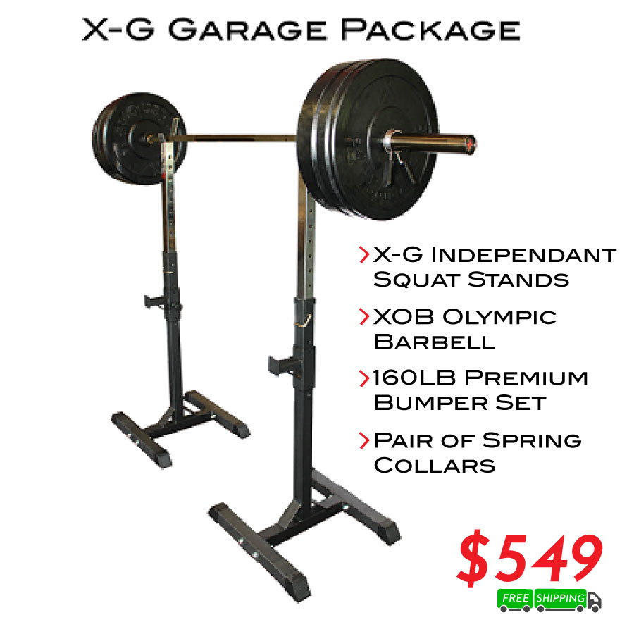 XG Garage Gym Package - Currently Out of Stock