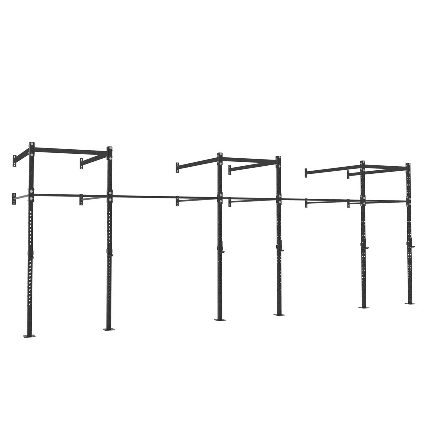 24ft Wall Mount Pull-Up Rig