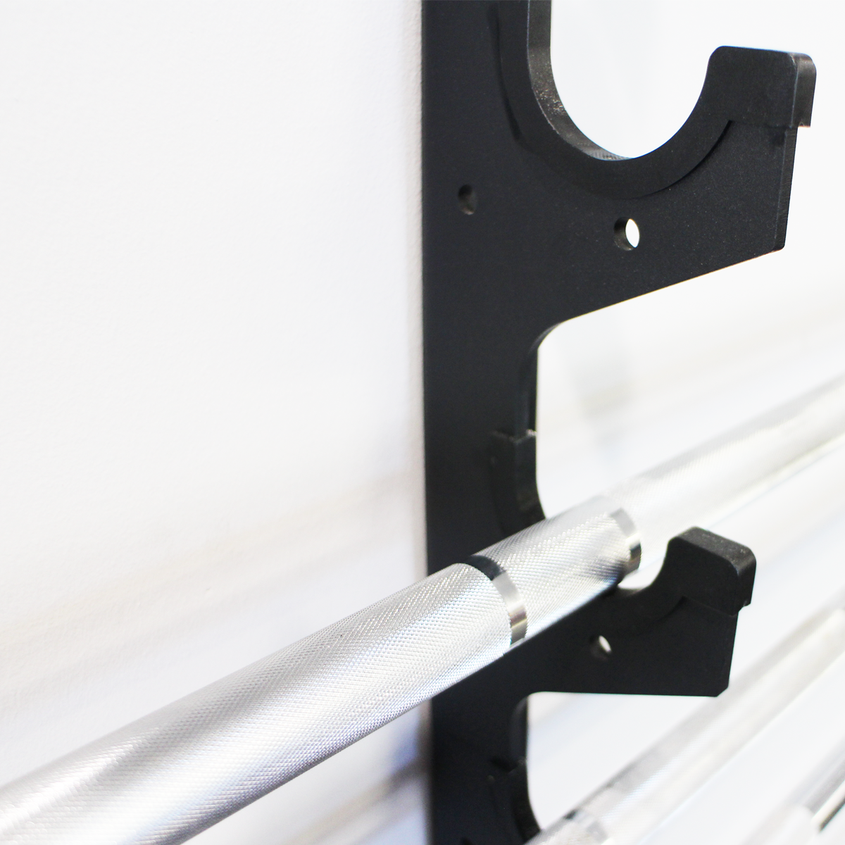 X Training Gun Rack - 6 Barbell Horizontal Wall Mount - Pre-Order Now - ETA Feb 28th