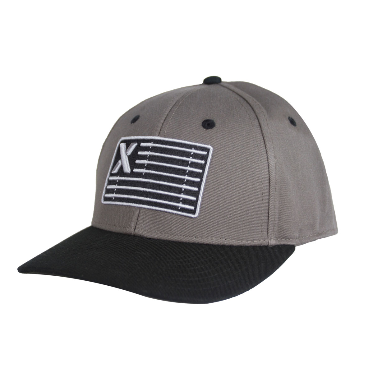 Grey Barflag Snapback with Camo Underbill - Out of Stock