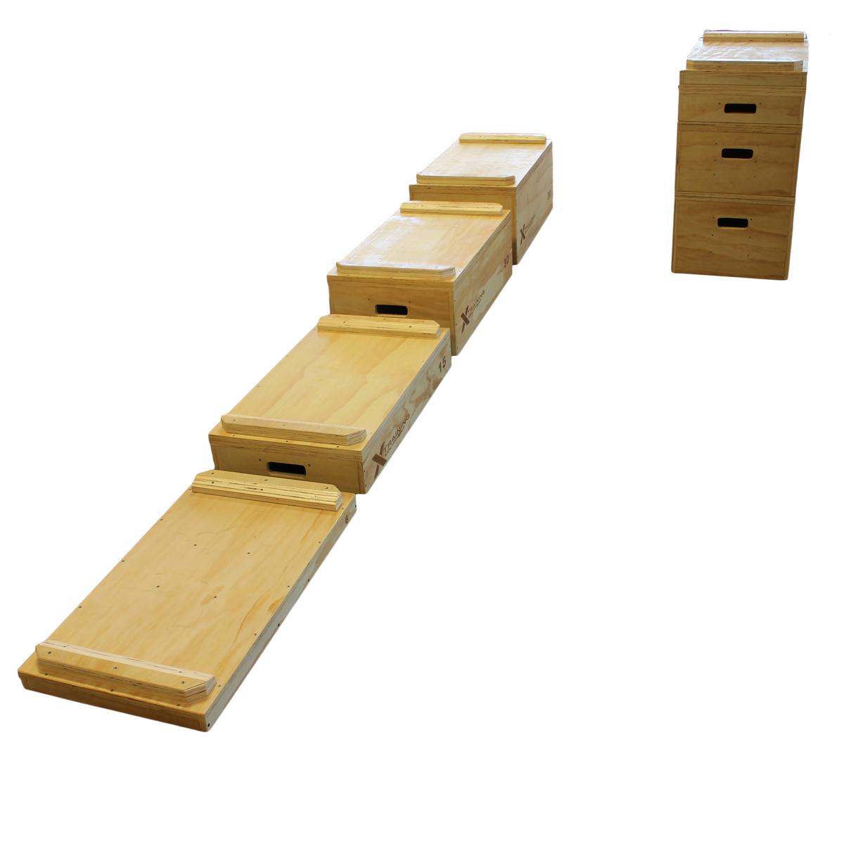 Premium wooden jerk pull blocks full set free shipping