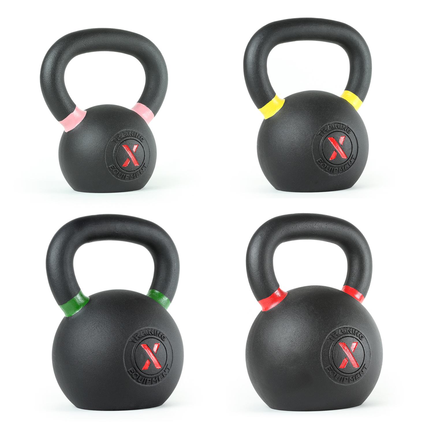 Essential Kettlebell Set - 18lb, 35lb, 53lb, 70lb - Out of Stock