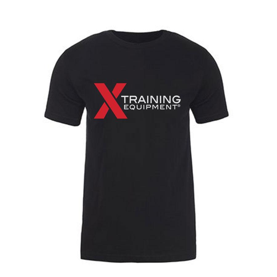 Mens - X Training Logo - Black - Premium Fitted T-Shirt