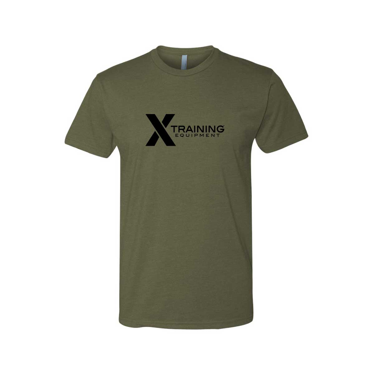 Mens - Logo - OD Green - Premium Fitted T-Shirt