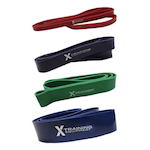 Strength Band 4-Pack - Includes Red, Purple, Green, & Blue Bands