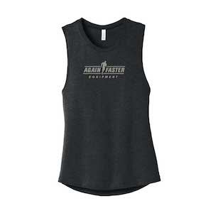 Womens - Logo - Dark Gray - Premium Blend Tank