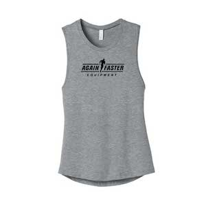 Womens - Logo - Light Gray - Premium Blend Tank