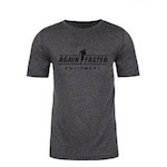Mens - Again Faster Logo - Charcoal - Premium Blend Fitted T-Shirt