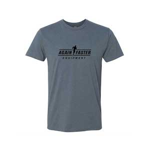 Mens - Logo - Indigo - Premium Blend Fitted T-Shirt