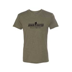 Mens - Logo - OD Green - Premium Blend Fitted T-Shirt