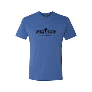 Mens - Logo - Royal - Premium Blend Fitted T-Shirt