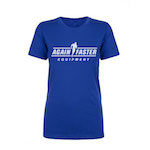 Womens - Logo - Royal Blue - Premium T-Shirt