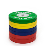 Again Faster® Pro Competition Bumper Set - 140KG