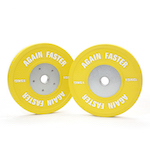Again Faster® Pro Competition Bumper Pair - 15KG