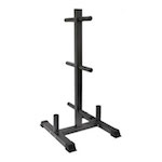 Olympic Bumper Tree & Barbell Rack