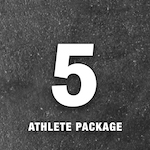X Training Equipment® 5 Athlete Gym Package