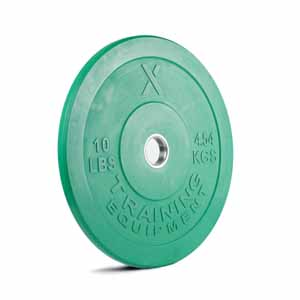 10LB Premium Color Bumper Plate Pair