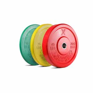 X Training Equipment® 160LB Premium Color Bumper Set