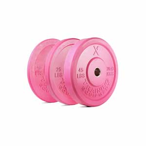 160LB Premium Pink Bumper Set - Out of Stock