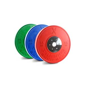X Training Equipment® 250LB Elite Competition Bumper Set - Currently Out of Stock - ETA Unavailable