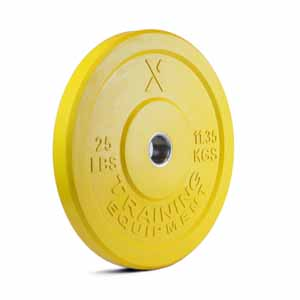 X Training Equipment® 25LB Premium Color Bumper Plate Pair
