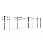 34ft Wall Mount Pull-Up Rig