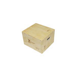 X Training Equipment 3-in-1 Small Plyo Box - 18x16x12