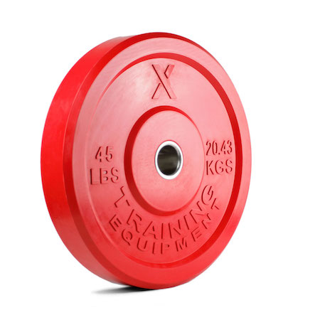 45LB Premium Color Bumper Plate Pair