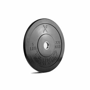 5LB Premium Black Bumper Plate Pair - Out of Stock