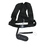 Elite Sled Harness - Universal Adjustable Premium Harness for Sleds