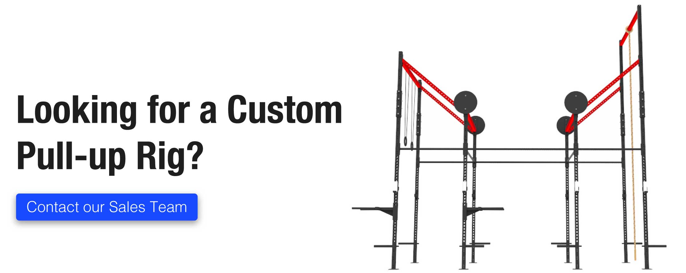 Custom X Training Pullup Rigs
