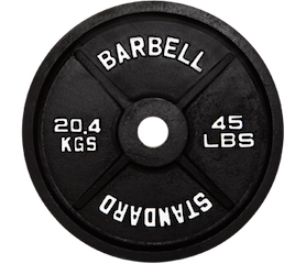 Black Steel Plates 10lb Pair - Out of Stock